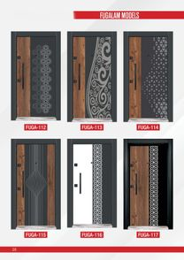 Armored doors for homes and companies