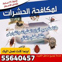 اتخلص من الحشرات والقوارض نهائيا وكفاله سنه...