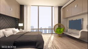 Get now a room and lounge in Al Nahda