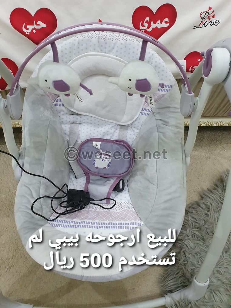 For sale a new baby swing has not been used 0