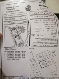 للبيع ارض تجاريه في صحار(فلج السوق)...