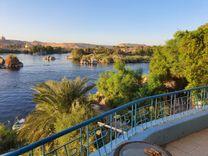 ارض 1400 م للبيع فى أسوان على النيل مباشره عليها مبانى...