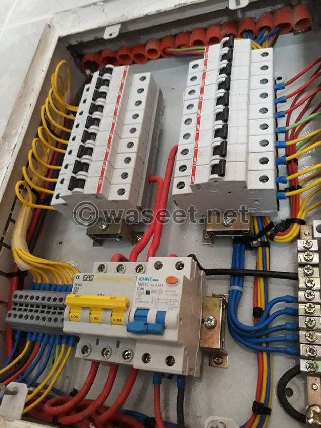 استلام تنفيذ كافة ورش الكهرباء صيانة تركيب عام
