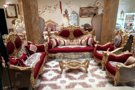 Egyptian seating sets 13