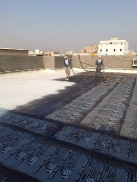 Waterproofing and thermal insulation