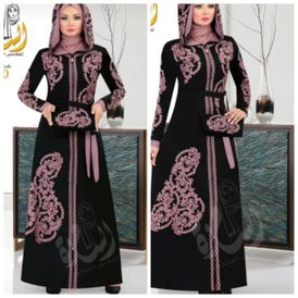 Abaya for outdoors