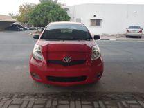 Toyota Yaris Red 2010