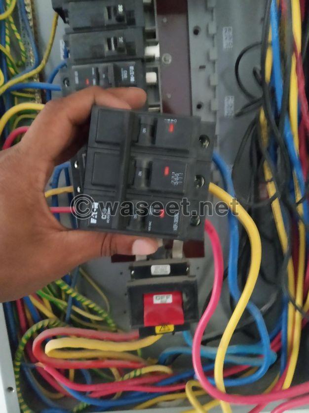 مقاول الكهربائية