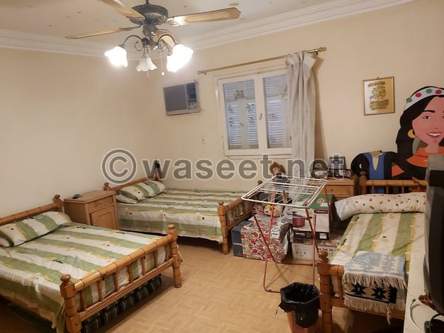 شقة ١٥٨ م النزهه الجديدة مصر الجديده