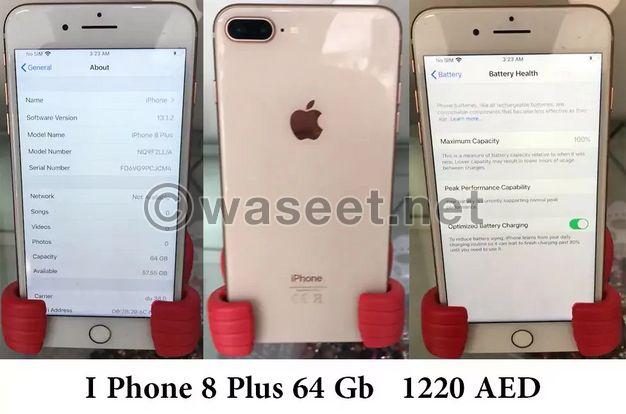 ايفون 8 بلاس للبيع