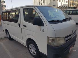 Hiace Bus is very clean in Abu Dhabi