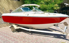 Without motor boat for picnic and fishing light American