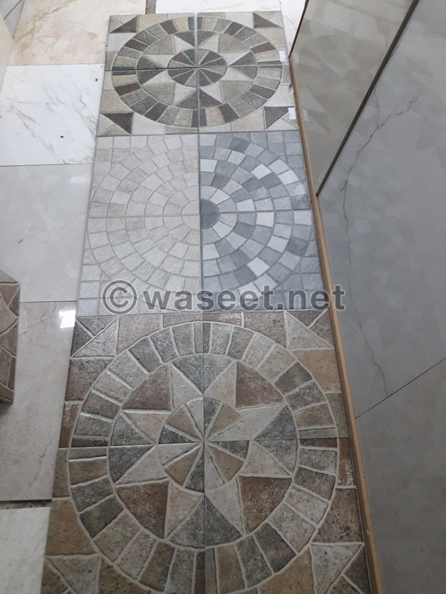 Alhoush Tiles, Interlock, Crabstone, Ceramic and All Floor Works