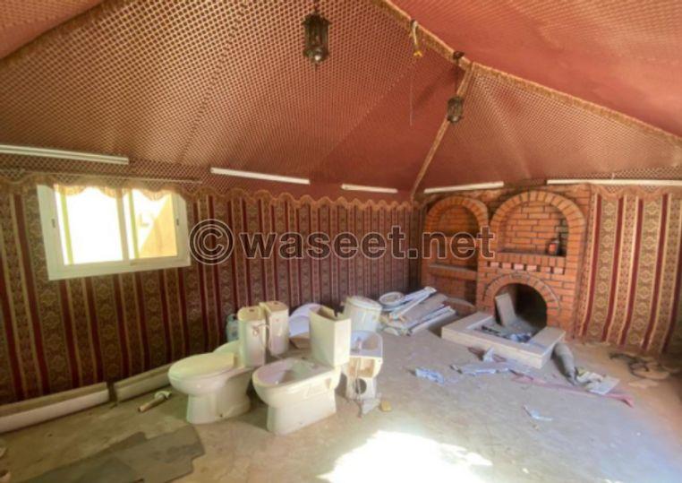 بيت شعر خيمة 6  للبيع