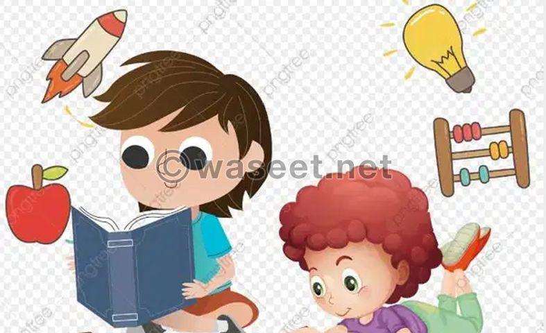 تأسيس الأطفال ما قبل المدرسة من 3- 5 سنوات 0