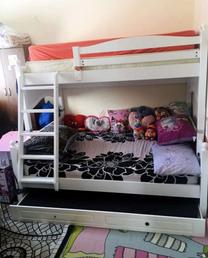 تخت خشب من 3 طبقات