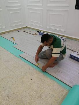 تركيب وتوريد وتصليح الباركية الخشب والبلاستيك