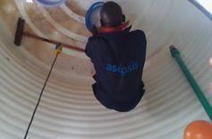 غسيل خزانات المياه مع التعقيم والعزل والصيانه
