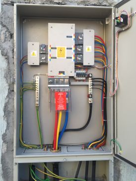 Extension and installation of electricity works