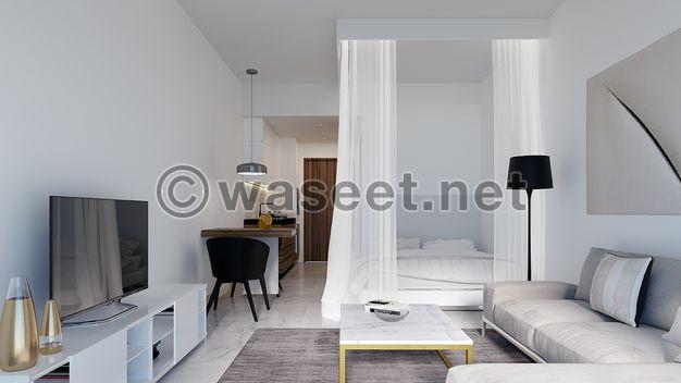 Own a unique two-storey duplex apartment in Abu Dhabi