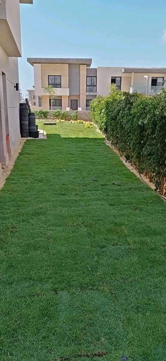 تنسيق وزراعة حدائق وتركيب الخيام 0
