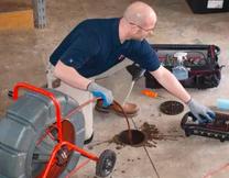تنظيف شبكات الصرف الصحي