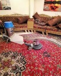 تنظيف فلل وشقق واستراحات ومساجد وغسيل مجالس وسجاد وفرشات