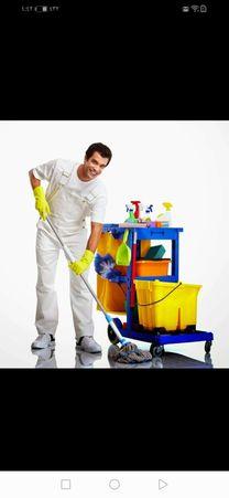 تنظيف وتعقيم