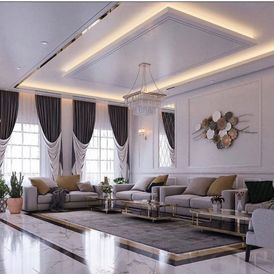 Implementation of interior decorations