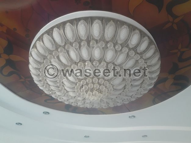 Very luxurious chandelier for sale