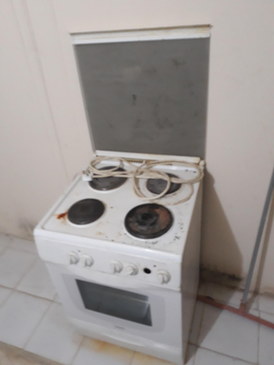 Refrigerator and electric gas for sale