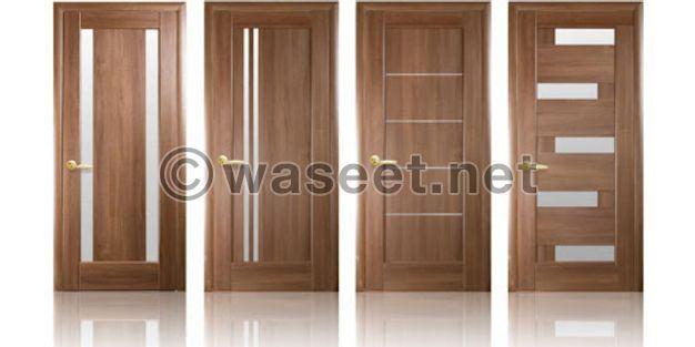 جميع أنواع أبواب الخشب
