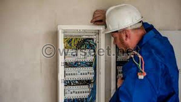 جميع اعمال الكهرباء
