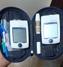 جهاز قياس سكر بالدم