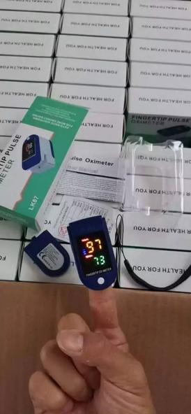 جهاز قياس نسبة الأوكسجين بالدم