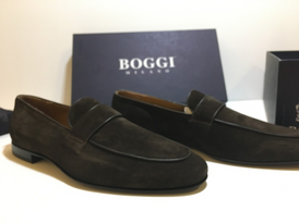 Boggi Italian men's shoes, new original 1