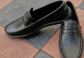 حذاء رجالي جلد من إيه إم