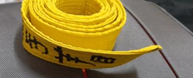 حزام اصفر للبيع