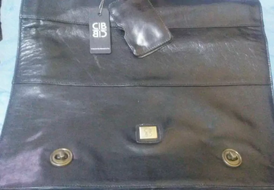 Business cib genuine leather bag