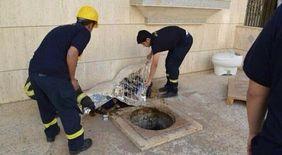 خدمات  تنظيف المجاري