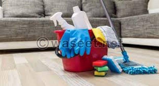 خدمة تنظيف الشقق والمنازل والمباني