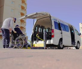 خدمة توصيل ذوي الإعاقة وكبار السن