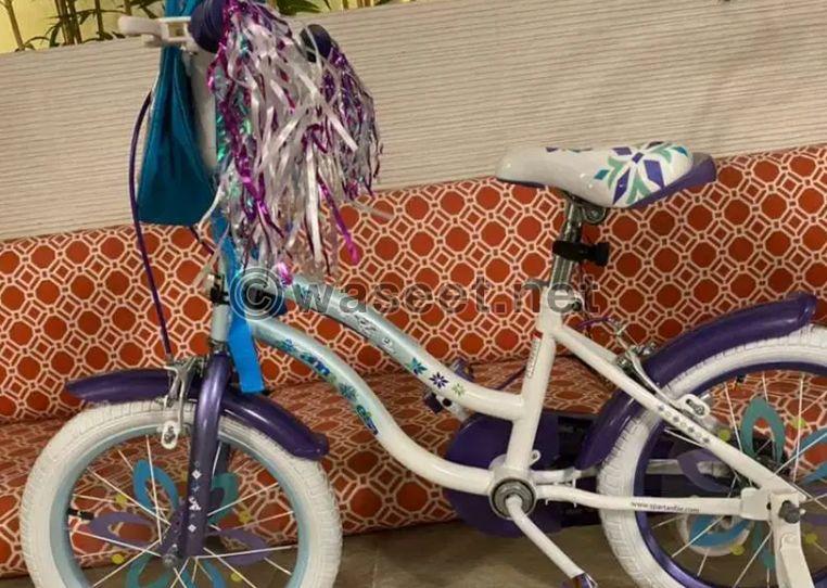 دراجة فروزن للبنات