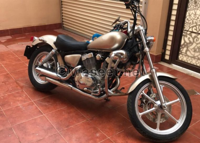 دراجة ناريه نوع فيراقو 250