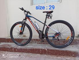 دراجة هوائية جديدة مقاس 29 للبيع 15