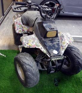 دراجه كورية شغالة للبيع