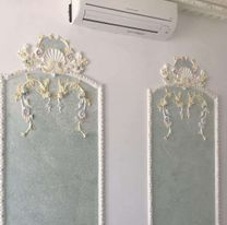 Gypsum Decorations and Pigments