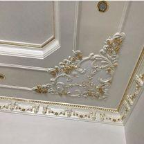 Interior Decorations.Gypsum Dye Ceramic Wallpaper
