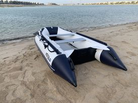 Inflatable boat 3 meters long in perfect condition