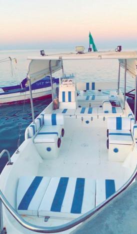 رحلات بحريه صيد ونزهه